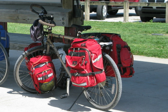 front wheel panniers