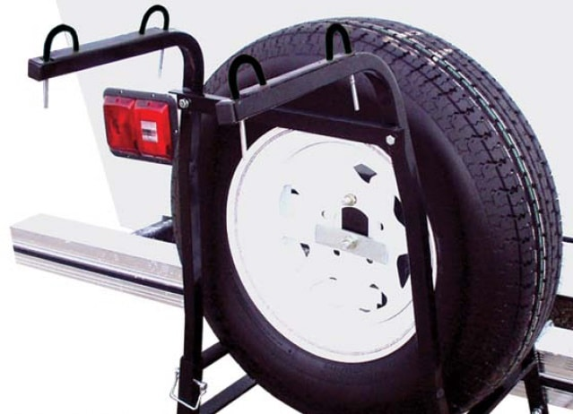 Around Spare Tire Popup Camper Bike Rack